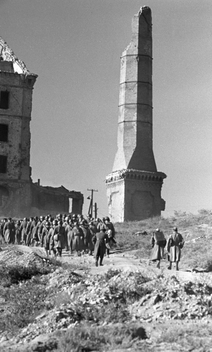 The battle lasted for 3 months, but all the Nazis' attempts to break through this ring of Soviet forces turned out to be in vain.
