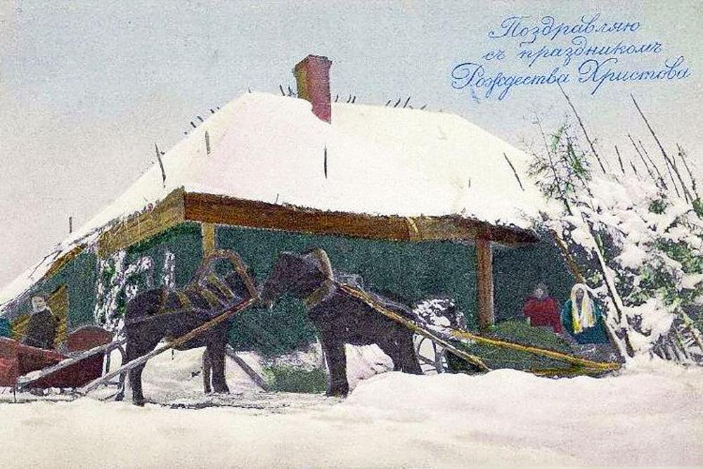 Para a Rússia, os cartões se tornaram uma nova forma de arte. Começaram a ser usados para decorar a casa e eram exibidos em álbuns especiais.
