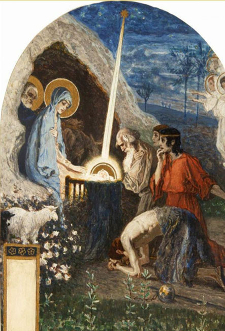 The Nativity of Christ, 1890-1891