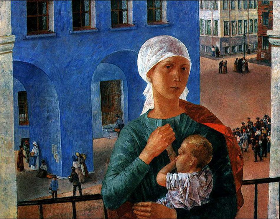Petrograd Madonna, 1920