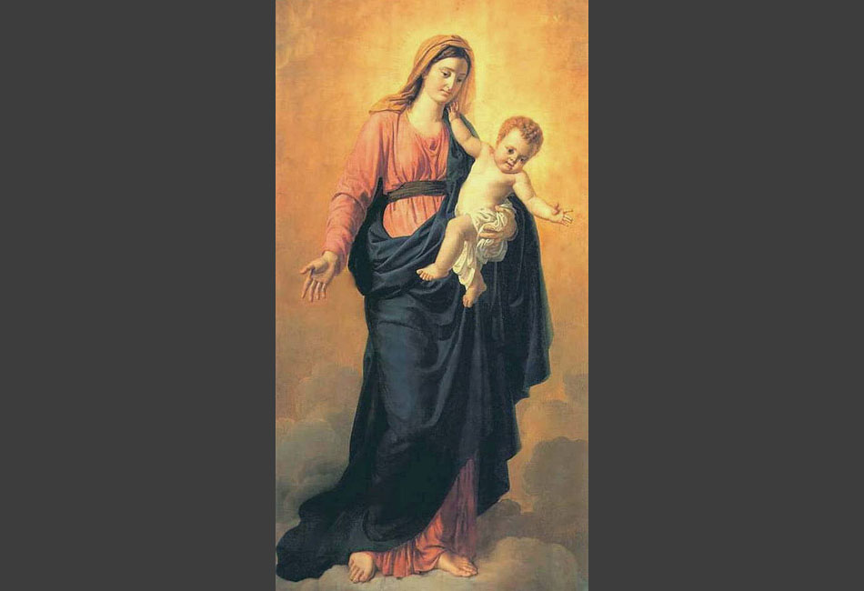 Madonna with the infant Jesus, 1807