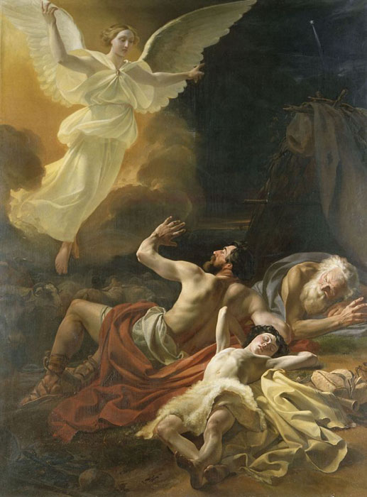 The Angels' Visitation of the shepherds, 1839