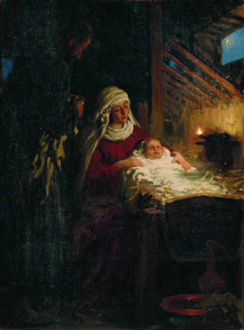 The Nativity of Christ, 1890