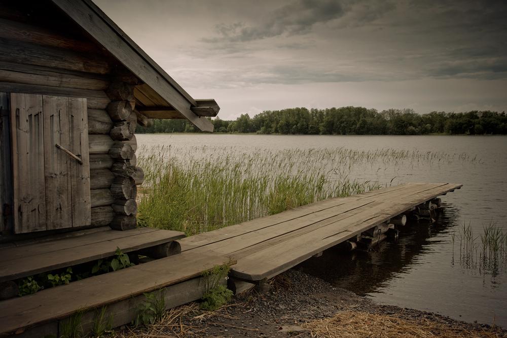 An der Nordwestseite des Onegasees, in der Republik Karelien gelegen, zeigt Kischi die Holzarchitektur der traditionellen Kultur des russischen Nordens.