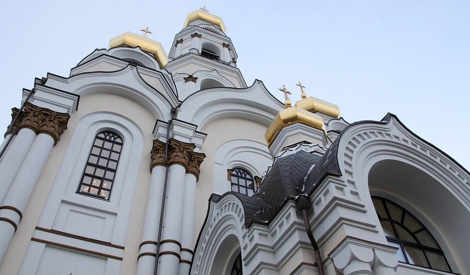 14/14. Храм је обновљен средствима Уралске рударско-металуршке компаније и Руске бакарне компаније.