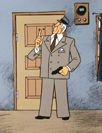 """Симболи укуса и стила нису ексклузивно право само живих људи – понекад су и део личноси одређеног књижевног лика, филмских и цртаних јунака. Најелегантнији детектив у целокупној историји совјетске полиције је капетан Болдирев, лик из цртаног филма """"Авантуре Васје Куролесова"""", насталог 1981. адаптацијом истоимене књиге за децу Јурија Коваља."""