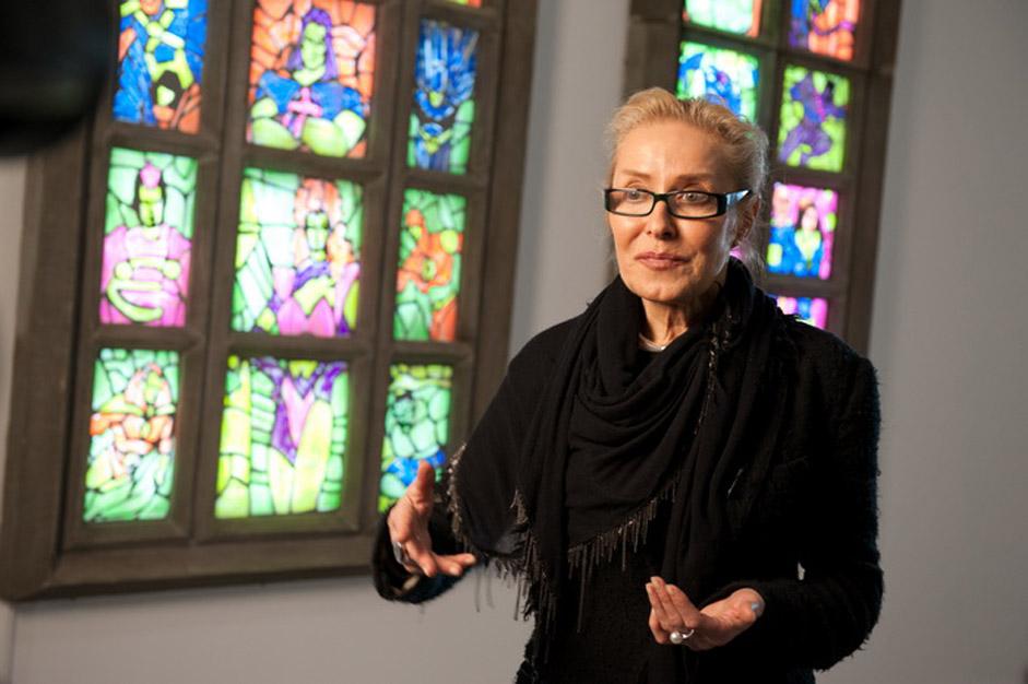 Ihre letzte Ausstellung präsentierte das Multimedia Art Museum in Moskau. (Auf dem Bild: Museumsdirektorin Olga Swiblowa)