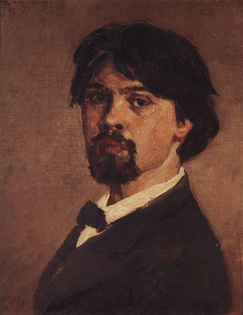 "Surikov passed away on March 6, 1916. The final words of this great artist were: ""I'm disappearing.""// Self-portrait, 1879"