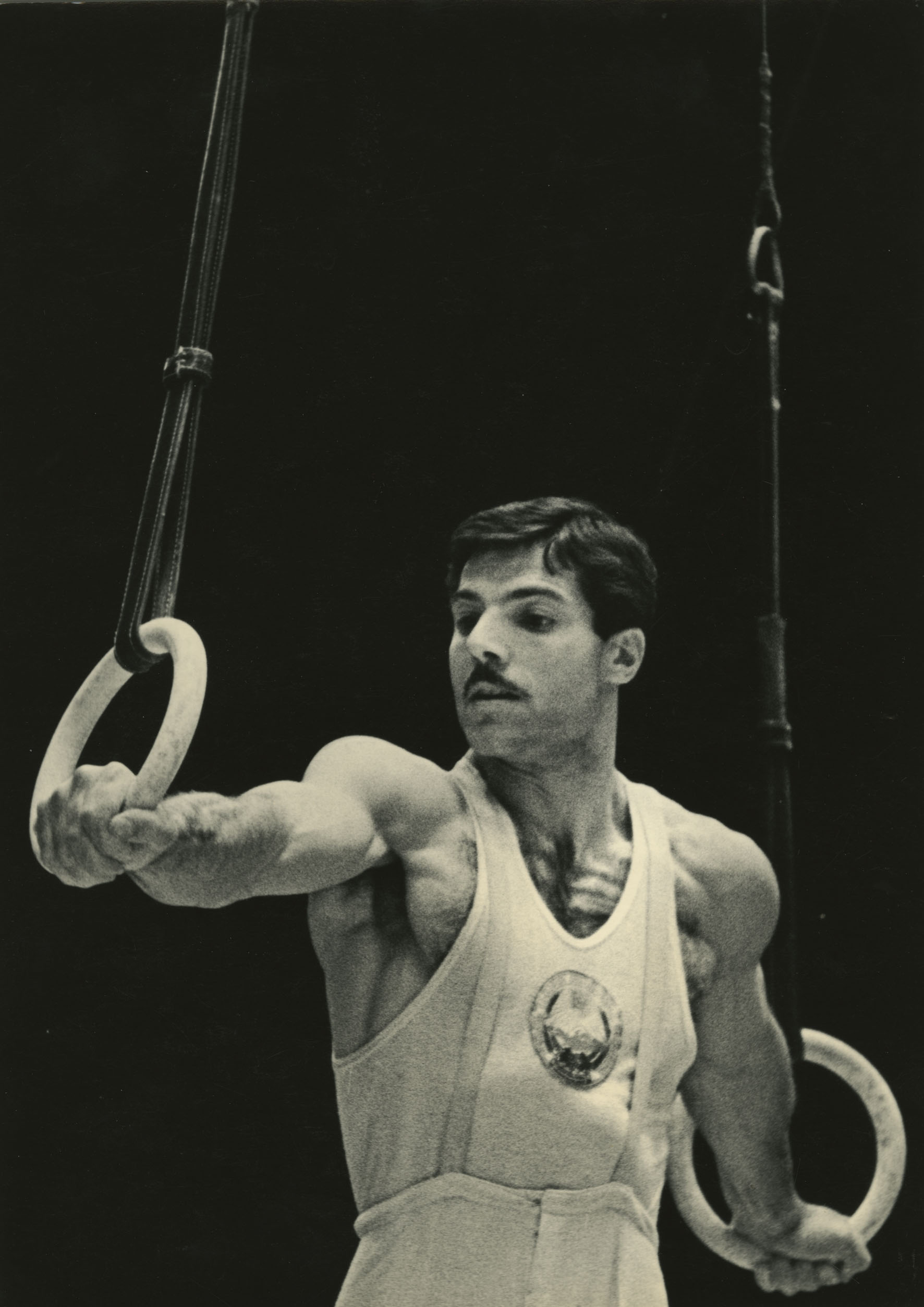 Albert Azaryan, an Olympic champion. 1955 // Today Lev Borodulin's collection is a unique phenomenon. It shows both a history of Russia in photographs as well as a history of the development of Russian photography.