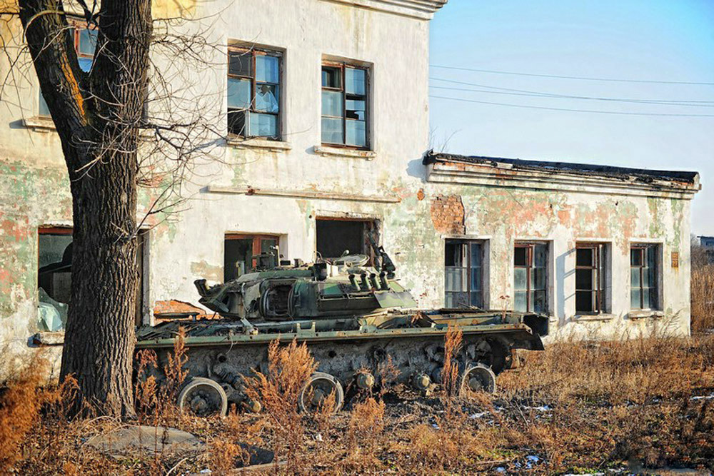 In Soviet times, the repair base received several government awards. In 2009, the state decided to convert this armored tank repair station into a joint-stock company. A few months later, the enterprise was declared bankrupt.