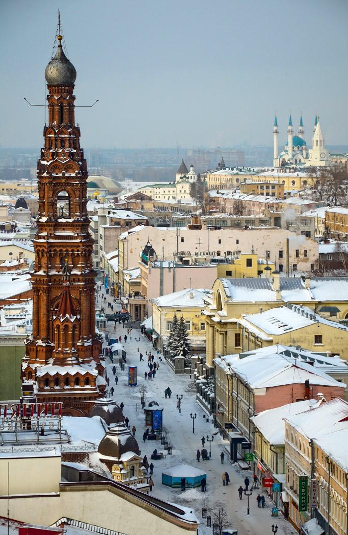 Im Jahr 2005 feierte Kasan den tausendsten Jahrestag seiner Gründung. Die Stadt machte sich selbst jede Menge Geschenke und wurde zu einer wahren Hauptstadt des Tourismus in Russland.