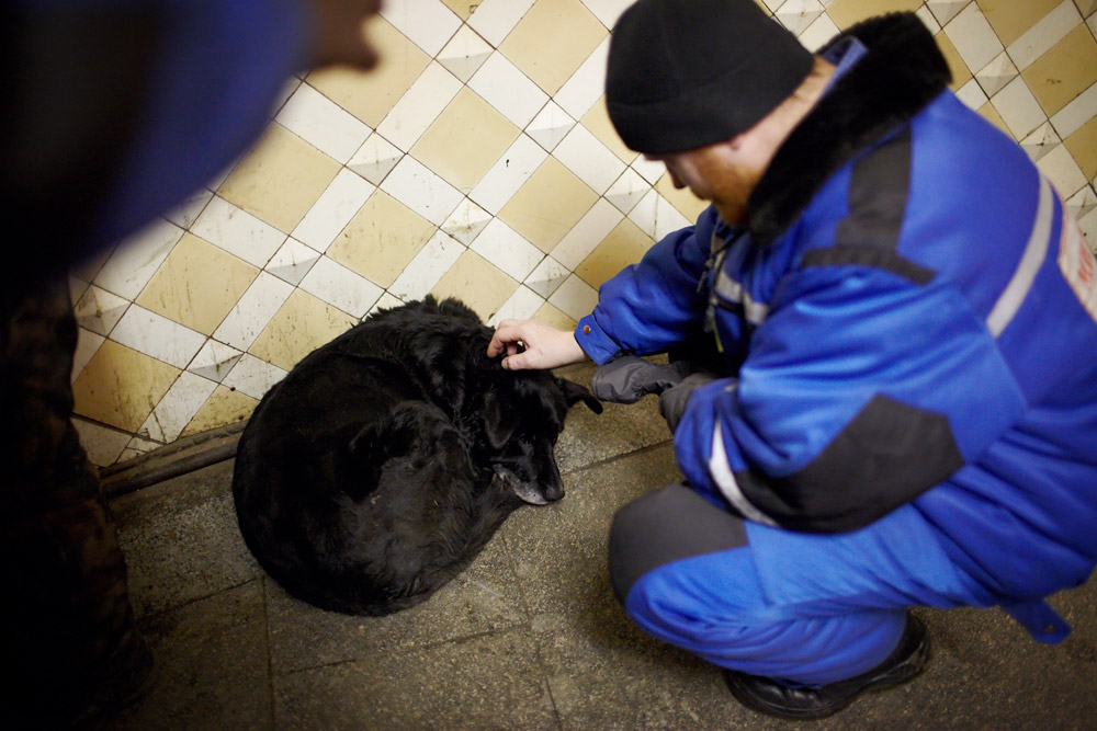 Any help for homeless is really appreciated especially in the winter. The cold snap hitting Europe has killed hundreds of people, and it's taking its toll on Moscow.