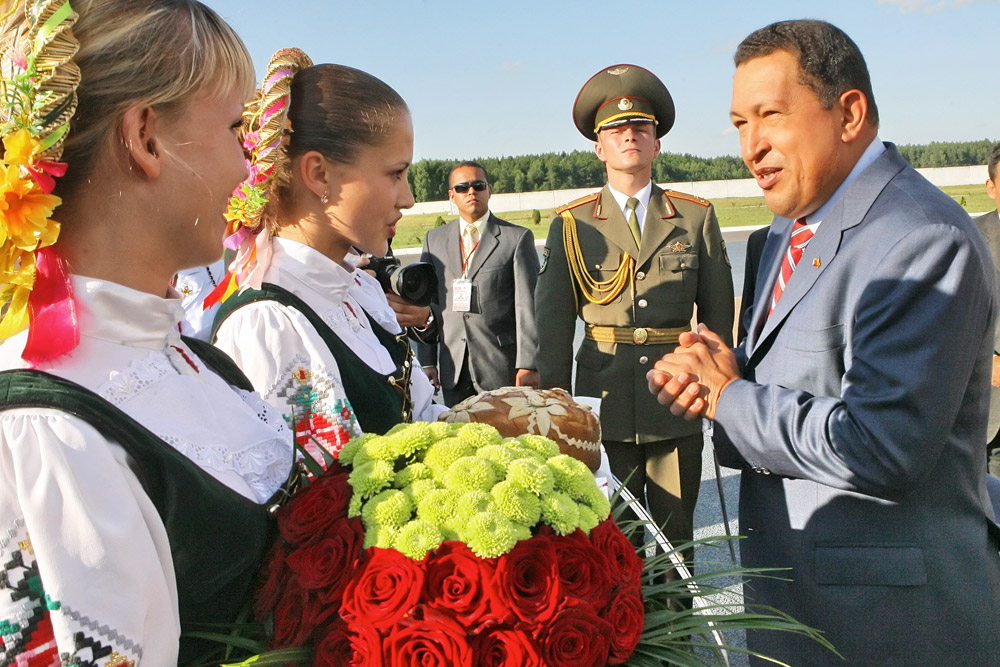 Hugo Chavez. Fuente: TASS