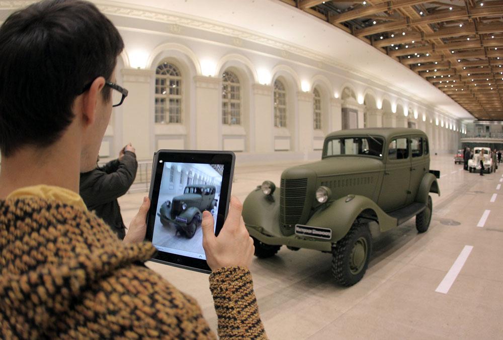 """El GAZ M1 (basado principalmente en la versión de cuatro cilindros del Modelo B de Ford) fue producido entre 1936 y 1942. La M, de Molotovets (""""en honor de Mólotov""""), es el origen del apodo del coche, Mka."""