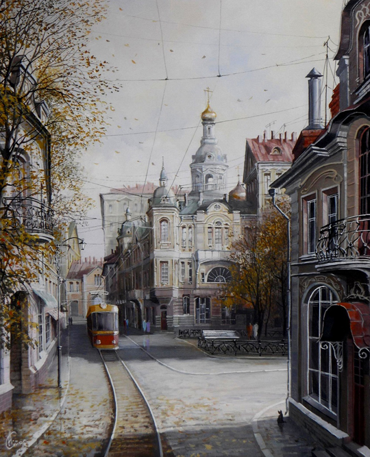 Works of Starodubov are in private collections in Russia and abroad. Some of paintings were acquired by Bulgakov Museum in Toronto, Canada.
