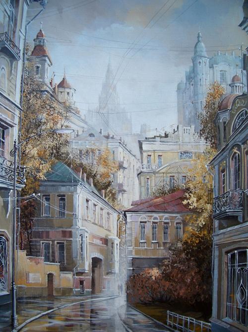 スタロドゥボフの絵画は、ロシアの裕福な人々の間で非常に人気がある。彼らは、およそ3500米ドル出して、彼の作品を購入する。