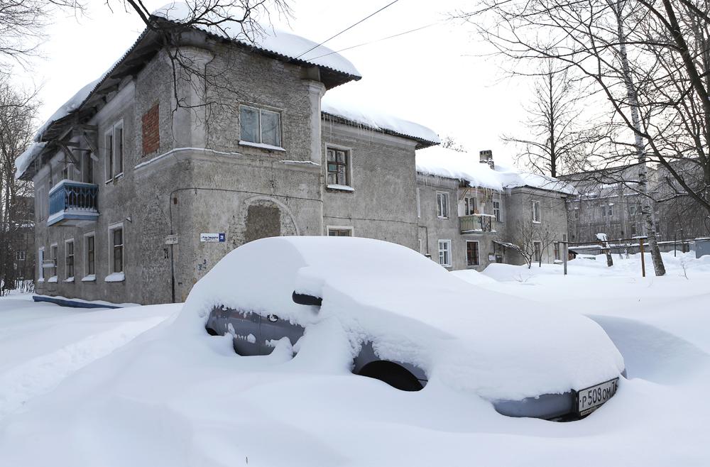 中央ロシアのヤロスラーヴリも悪天候に見舞われた。この都市は通常、春は降水量が低い。