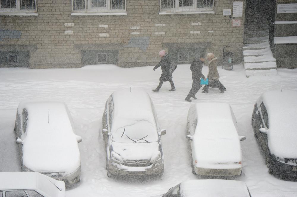 ユーラシア大陸の中央に位置するエカテリンブルクでは、3月の大雪は、驚くことではない。長い冬の間に市内には雪が多く積もり、4月の終わりまでには溶ける。