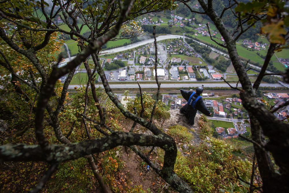 "The name ""BASE jumping"" is an acronym for the four types of objects that jumpers leap from: Buildings (or monuments), Antennas, Spans (Bridges), Earth. Antenna towers are popular jumping points because they are often as tall as the world's tallest buildings, but easier to climb and have less security. Spans, or bridges, have to cross over large canyons or gorges to be suitable for a BASE jump. Earth refers to large natural formations that are suitable for BASE jumping: cliffs, canyons, fjords and gorges."