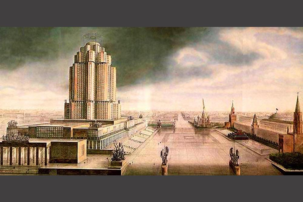 Parmi les programmes de grande envergure des premiers plans quinquennaux staliniens, le Plan général pour la reconstruction de Moscou, adopté en 1935, éclipsait tous les autres par son ampleur. Selon le plan, Moscou devait se transformer du jour au lendemain en capitale modèle du premier Etat socialiste au monde.