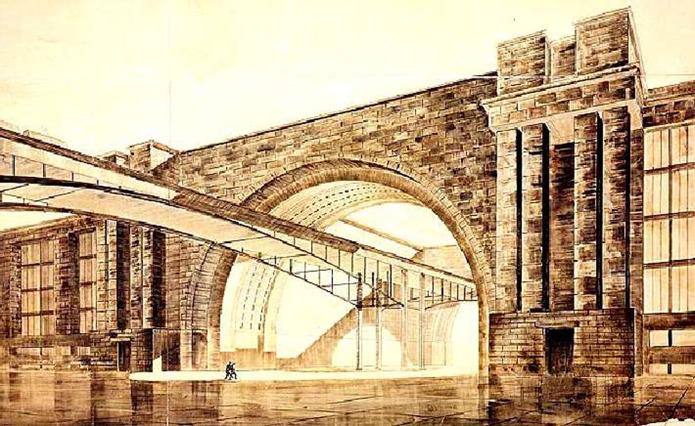 Eine Ausschreibung für den Technologiepalast wurde 1933 veröffentlicht. Man wählte ein Gebiet an den Ufern des Flusses Moskwa als Bauplatz aus. Allerdings wurde der Technologiepalast nie verwirklicht.