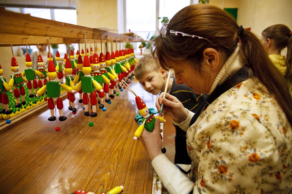 マスタークラスは、子供と大人の両方が受けられる。