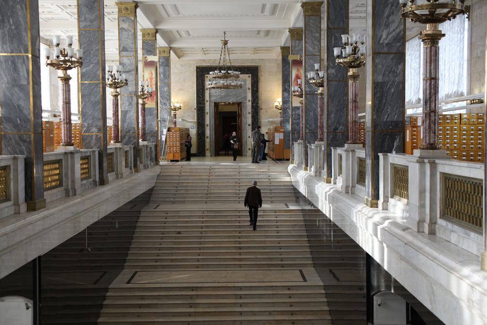 The Russian State Library is the headquarters of the Library Assembly of Eurasia. In 2006, by decision of the Council of Heads of Governments of the CIS, the Library was assigned the status of a core organization for cooperation among CIS member states in the field of library science.