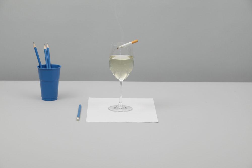 """""""""""peuk&wijn"""", aus der Serie """"Die Formalisten"""". 2011, Lernert & Sander."""