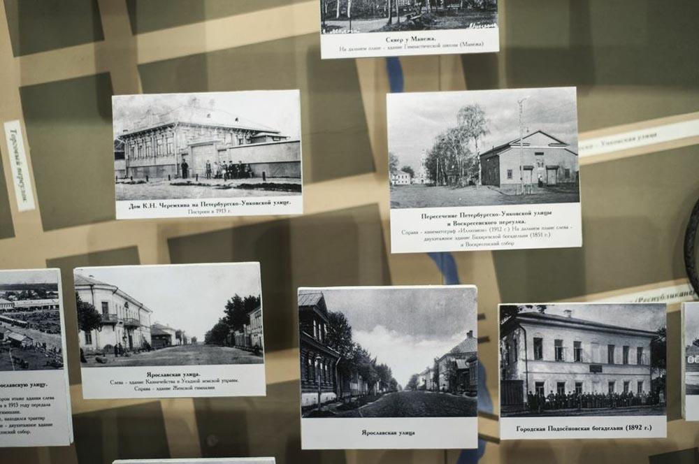 Улиците на старата Молога. Жителите на околните села се преселени за четири години.