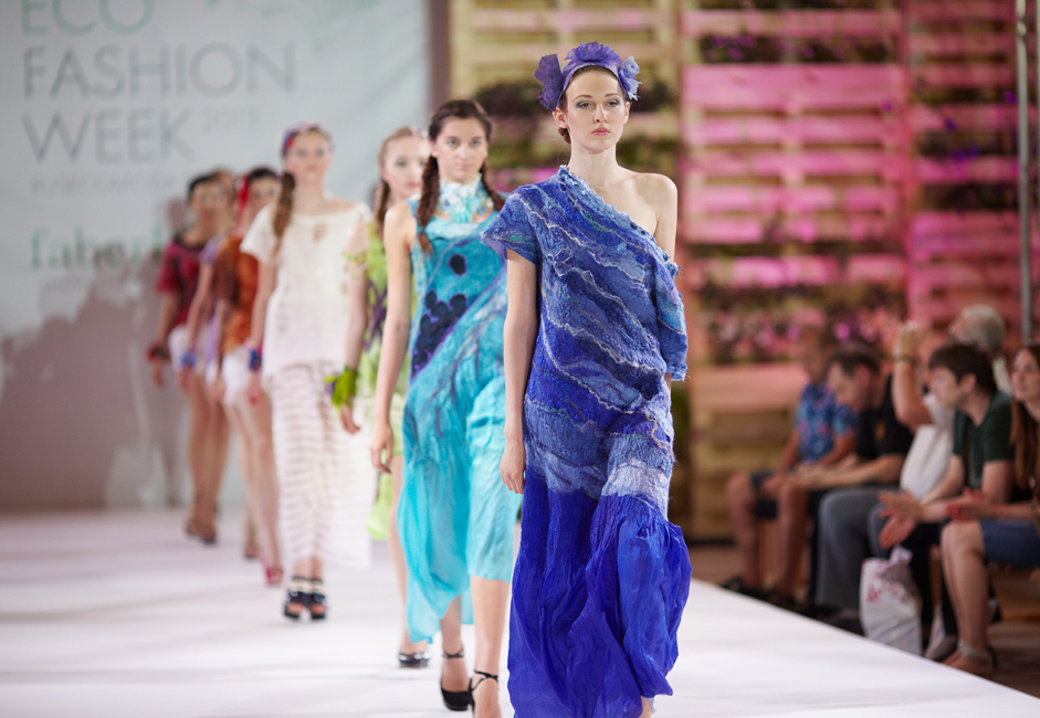 """We want our designers to start participating in eco-themed and ethical shows in the West a few years down the line, or maybe even as soon as next year,""  - Kargina revealed."