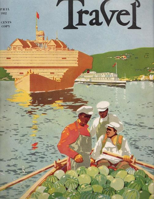 Cruzeiro pelo Volga, 1932.