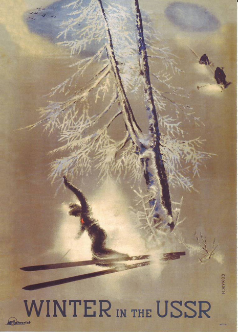 Winter in the USSR, 1935.