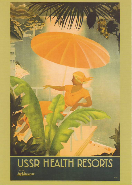 USSR health resorts, 1930.