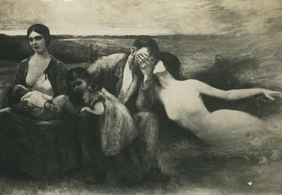 """""""Drama života""""  – to je samorazumljivo: žena i djeca na jednoj, zov sirene na drugoj strani. Drama i ovako i onako."""