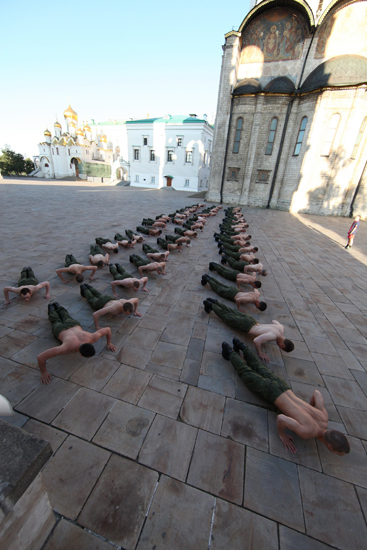 5/12. Војници председничког пука ће после јутарњег трчања по Тајницком парку овде моћи да наставе тренинг.