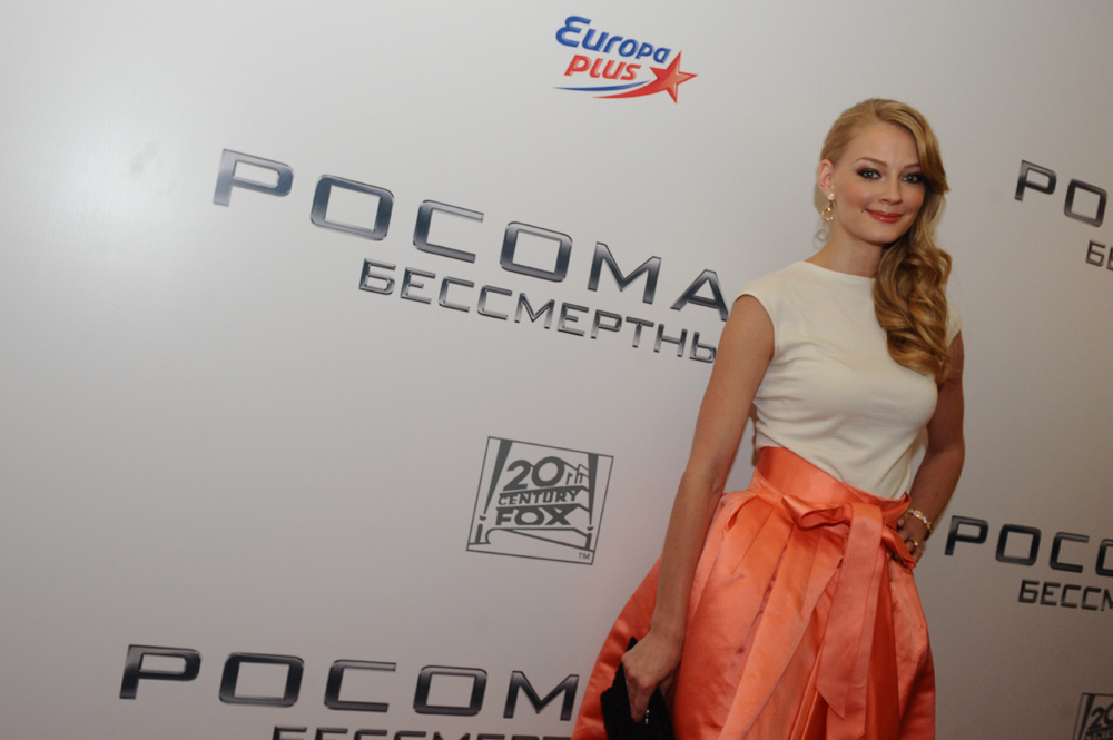 私生活では、シチュキン演劇学校で一緒に学んだ俳優、ウラジーミル・ヤグルィチと一度結婚している。2004年に結婚し、2010年に離婚した。