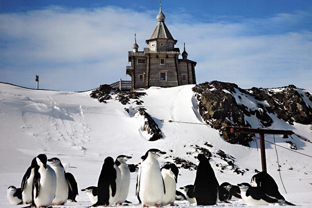 Igreja da Santíssima Trindade na Antártida, o templo ortodoxo mais austral do mundo