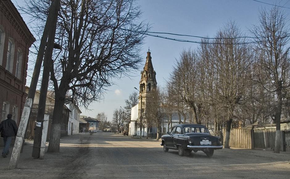 カルーガ州ボロフスク市は、鉄道キエフ線「バラバノヴォ」駅近くにある。標準的な田舎町だ。一つの例外を除けば・・・