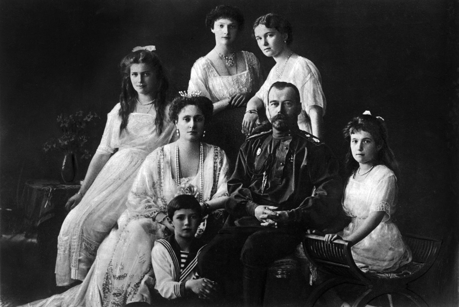 """Nicholas II stood up easily, with a military bearing; Alexandra Fedorovna got out of her chair unwillingly, her eyes flashing with malice. A detachment of Latvians entered the room and drew themselves up directly opposite her and her daughters: five men in the first rank and two – with rifles – in the second. The tsarina crossed herself. It was so quiet you could hear the rumble of a truck's engine in the yard through the window. Yurovsky took half a pace forward and addressed the tsar: 'Nikolai Alexandrovich, your supporters' attempts to save you have failed!' […] Yakov Mikhaylovich raises his voice and his hand slices through the air: … we have been given the mission of putting an end to the house of Romanov!"" (From the memoirs of Mikhail Medvedev-Kudrin, who took part in the shooting of the tsar and his family)"
