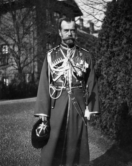 "Emperor Nicholas II (age 50 on the day he was shot)  // ""Like everyone, he could be mistaken about his resources, in the opinion of those who judge him so harshly now—he could be mistaken in his choice of the people around him. But in all the 10 years that I served him, in the most various conditions and in the most difficult days of the last decade, I was not aware of a single case when he did not respond with the most sincere impulse of great goodness and luminosity to whatever crossed his path."" (From the memoirs of Vladimir Kokovtsev, statesman)"