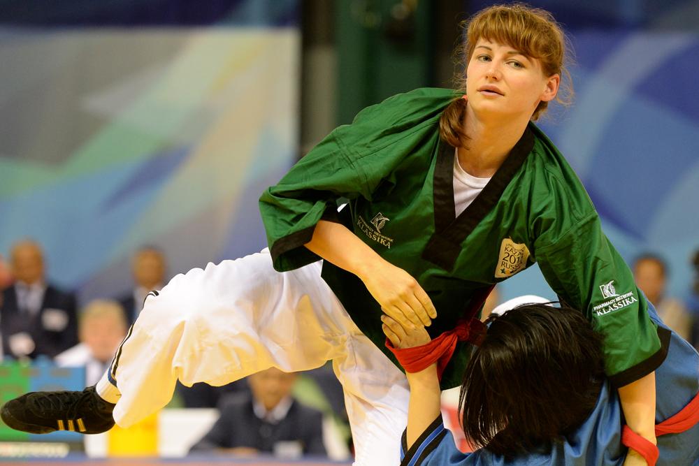 セラフィマ・サフォノワは、ベルト・レスリングで金メダルを獲得。「ケレシュ」(「ケル」はテュルク語で「豊か、勇敢」の意)と呼ばれるベルト・レスリングは、ボルガ地域やウラル地域で発達した歴史的な民族格闘技。ロシアなどに住むテュルク系民族の象徴的な競技だ。