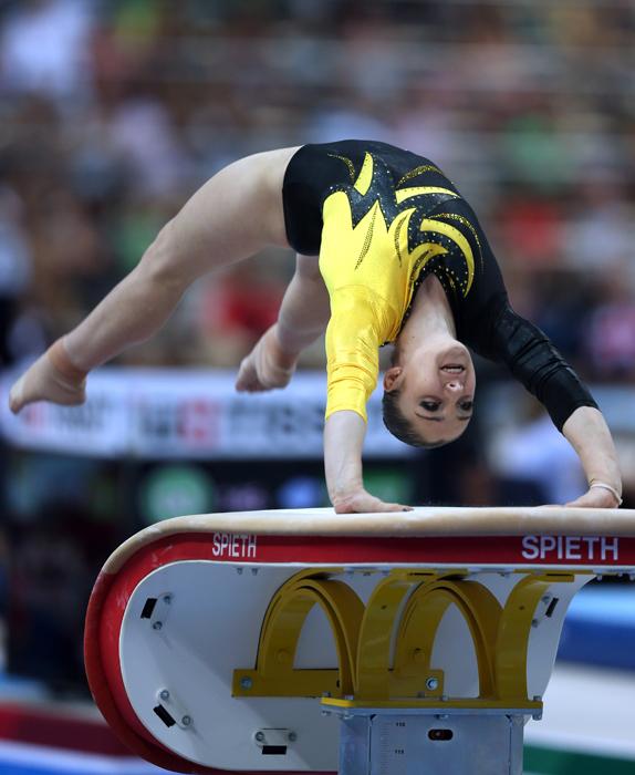 体操選手のアリヤ・ムスタフィナは、段違い平行棒で金メダルを獲得。これはユニバーシアードでムスタフィナの3個目の金メダル。これまでにも団体大会や多種目で勝利してきた。18歳のムスタフィナは、ロンドン五輪でも段違い平行棒で金メダルを手にしている。