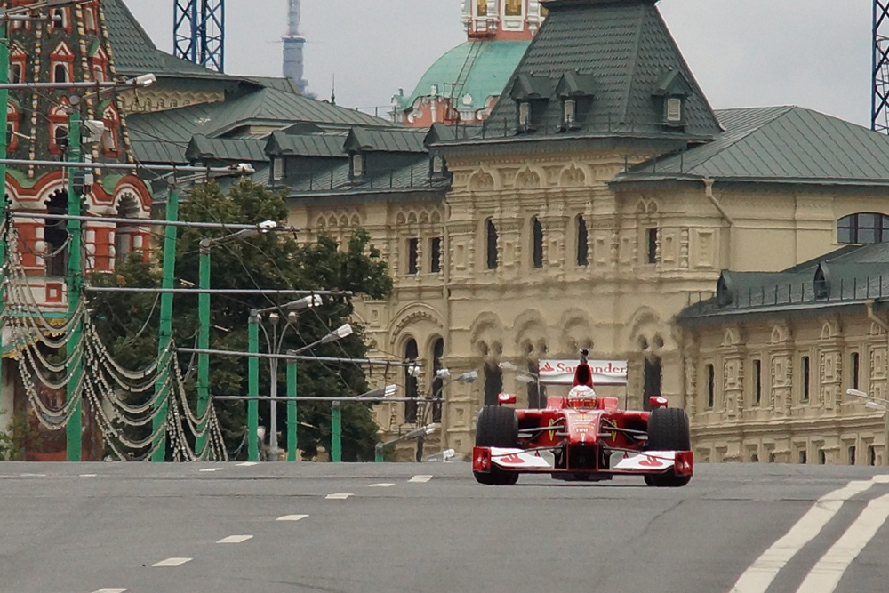 The next Moscow City Racing will take place in Moscow in the summer of 2014, shortly before the start of Russia's first F1 Grand Prix in Sochi.