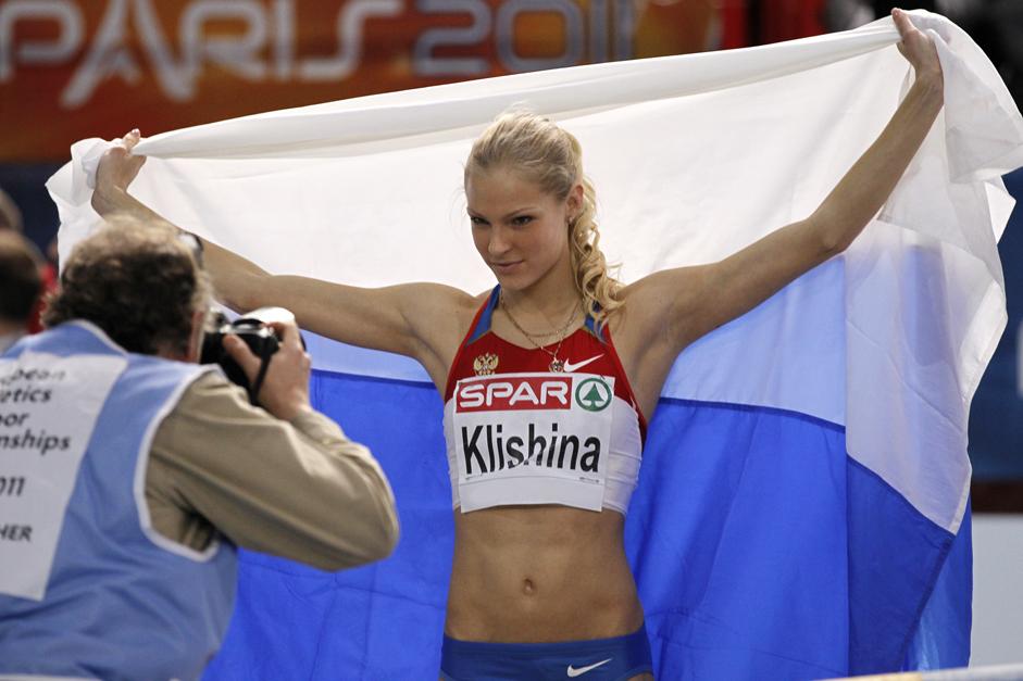 Esportista, modelo e apresentadora, Klíchina é uma das mais adeptas do Instagram