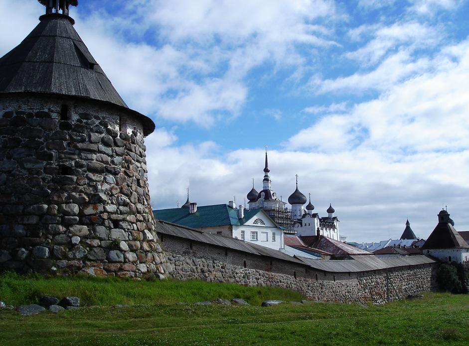 Die Solowezki-Inseln sind russische Geschichte in komprimiertester Form.