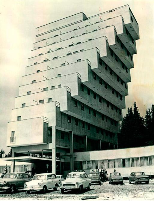 Slovaquie, Strbske Pleso, Panorama Hotel Ski Resort.
