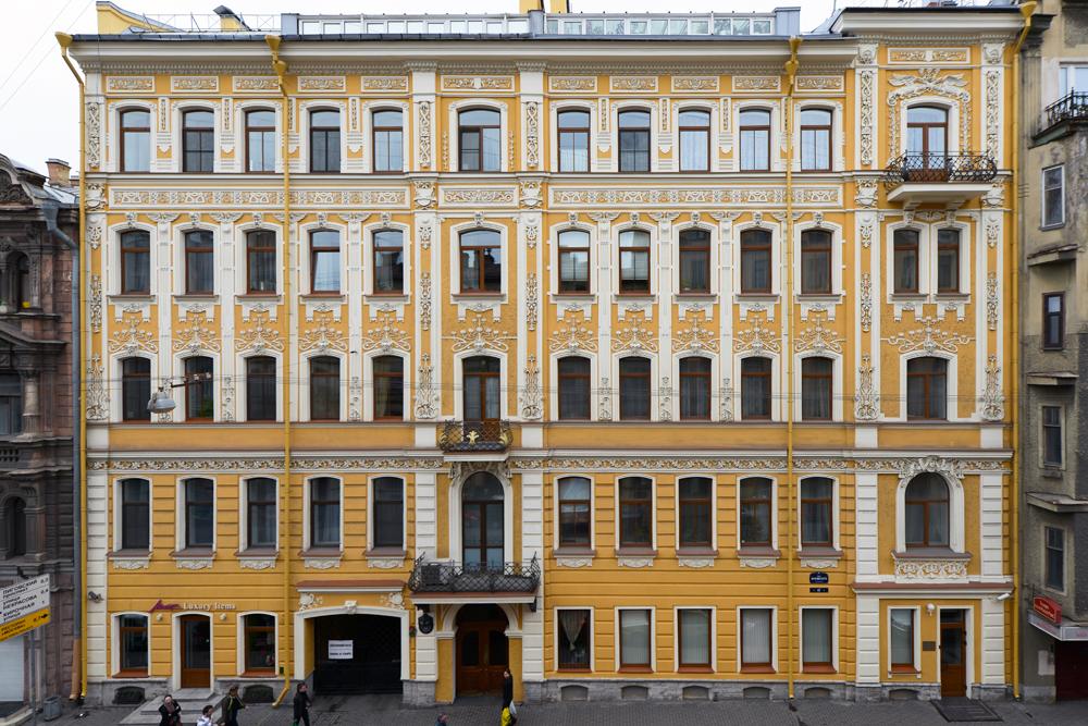 Jedes Gebäude in St. Petersburgs historischem Zentrum ist einzigartig.