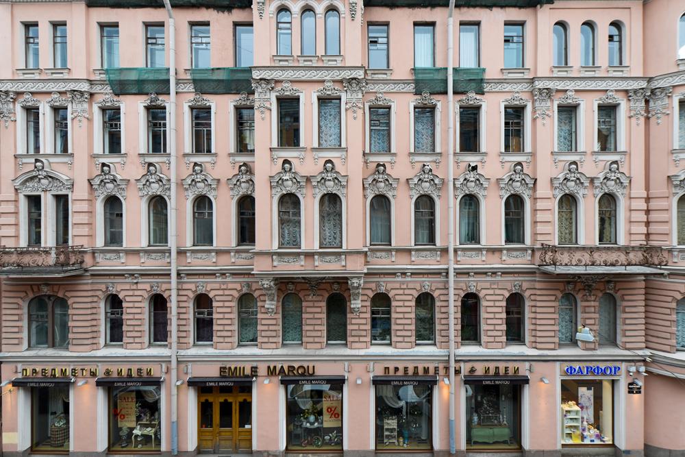 Es gibt mehr als 20.000 Gebäude in der Stadt.