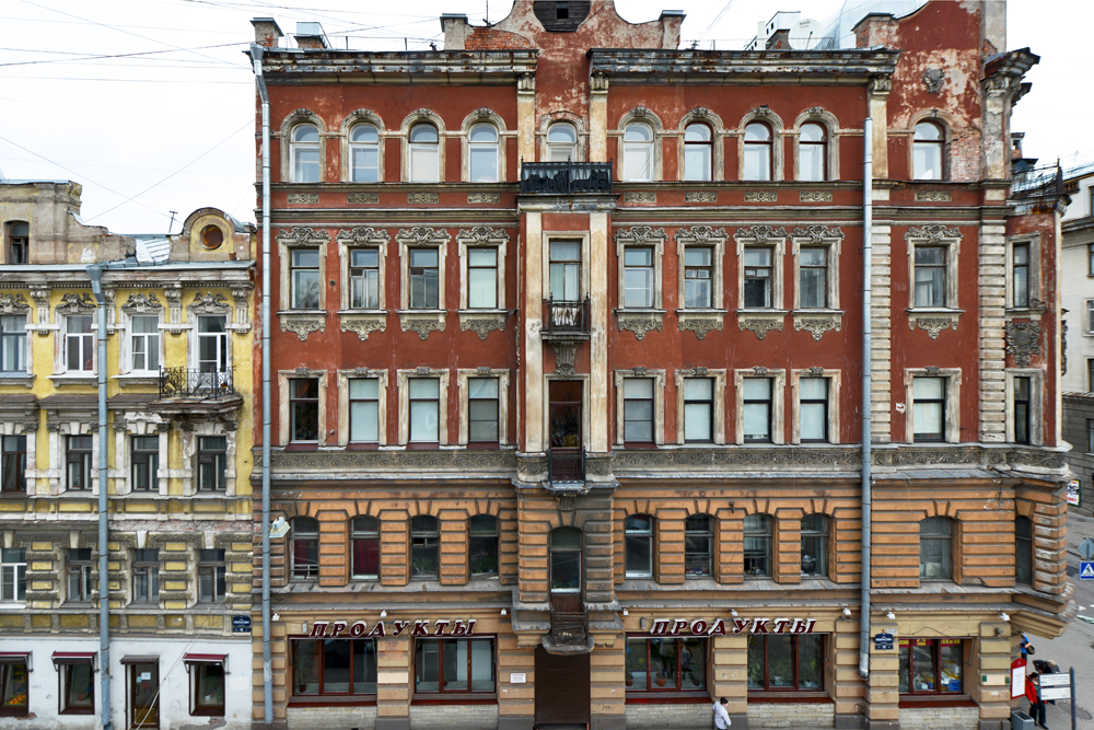 Viele Gebäude bewahren ihren Zauber, ungeachtet der Tatsache, dass die Zeit ihre Spuren hinterlassen hat.