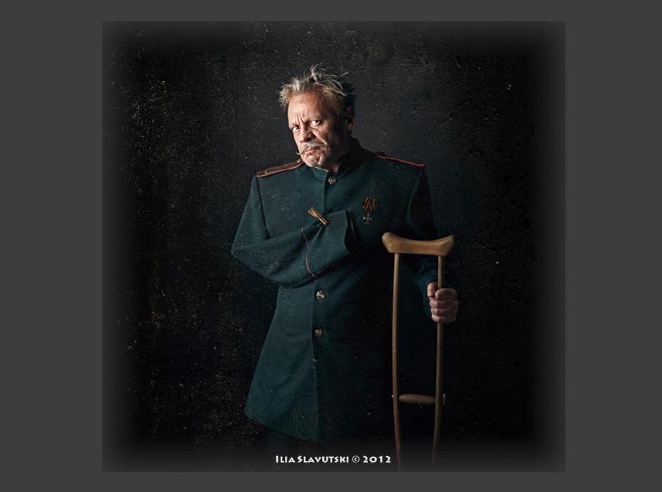 """Капетан КОПЕИКИН. """"После борбите во 1812 година тој беше испратен дома ранет – одреден Капетан Копеикин – тврдоглав и жилав, независно дали е на должност или не. Тој ја загубил едната рака и една нога во Красни или во Лајпциг"""""""